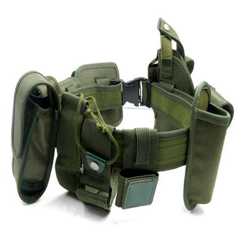 Army Tactical Swat Police Security Combat Gear Utility Nylon Duty Belt Tan