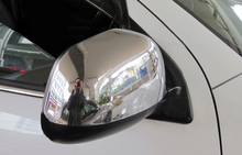 12-16 Accessories ABS Chrome Rearview Mirror Cover trim 2pcs   for Peugeot 4008 2012 2013 2014 2015 2016