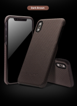 QIALINO Leather Bag Case for iPhone X Fashion Ultra Thin Genuine Leather Phone Cover for iPhone X Luxury Back Case for 5.8 inch hot in stock archos 50e neon case 6 colors luxury ultra thin leather exclusive for archos 50e neon phone cover tracking