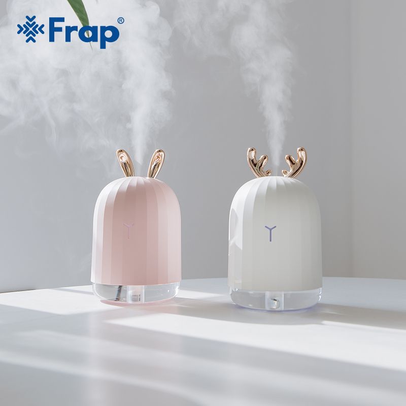 FRAP 220ML Aromatherapy Machine Air Humidifier Aroma Essential Oil Diffuser for Home Car USB Fogger Mist Maker LED LampY81134 title=