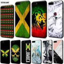 YIMAOC Jamaica Jamaica Cờ Silicone Mềm dành cho iPhone 11 Pro XS Max XR X 8 7 6 6S plus 5 5S SE(China)