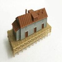 Train railway model scene N ratio 1:160 warehouse and cargo terminal Applicable 1:150 1:144