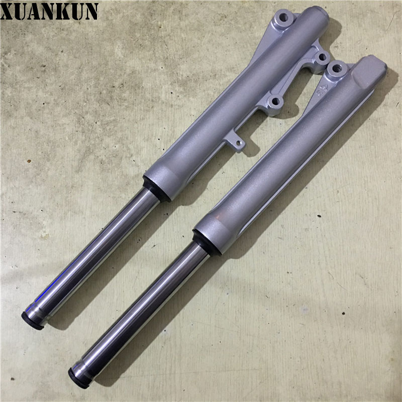 XUANKUN Motorcycle QS110 QS110-2 Shock Absorber Before The Shock Disc Brakes Fork