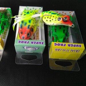 Image 5 - Deshion Topwater miękka przynęta żaby przynęty 15g 13g 8g 6g miękkiego silikonu przynęty żaby przynęta wędkarska