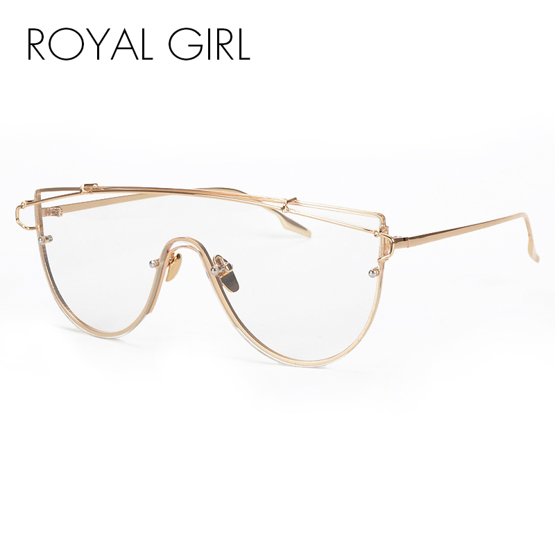 ROYAL GIRL New Unique Metal Eyeglasses Frames Designer Optical Glasses Included pouches SS915