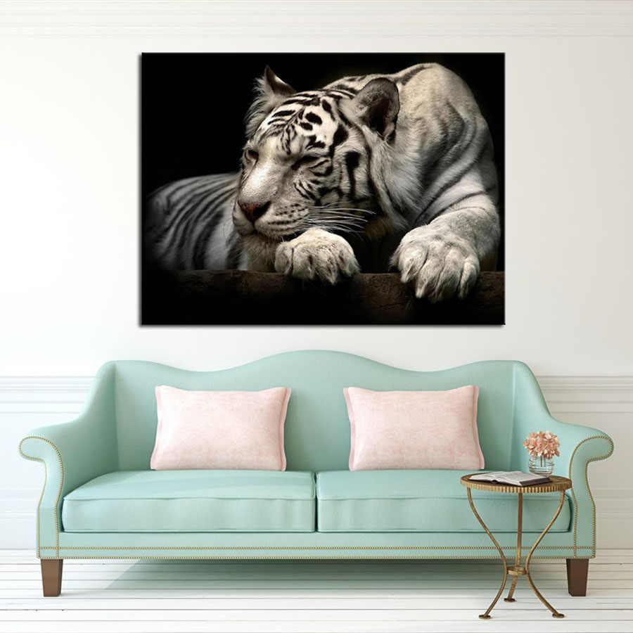 ARTNESSTOR Wall Art Decorations Modern Canvas Prints Artwork Tiger Pictures Paintings Canvas Wall Art Painting Decor