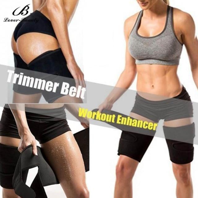 Lover Beauty Leg Shaper Sauna Sweat Thigh Trimmers  (2 Packs) Warmer Slender Slimming Wraps Legs Thermo Neoprene Compress Belt 2
