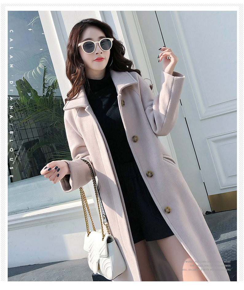 Fashion Winter Trench Coat For Women Long Coat Women Plus Size lingerie manteau femme hiver abrigos mujer invierno 18 2