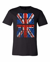 Simple Tailoring T Shirt Fashion Design Free Shipping God Save The Queen Union Jack Men S