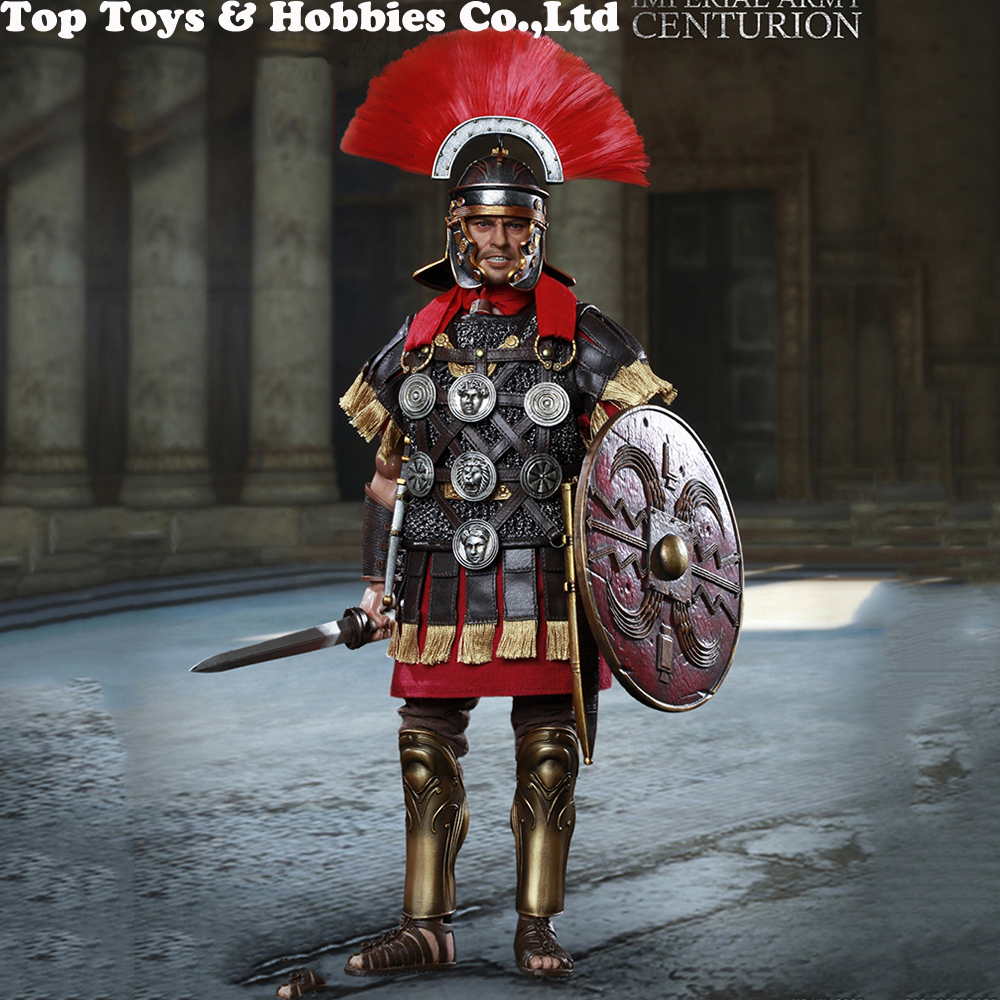 HH18002 1 6 Scale Rome Imperial Army Centurion Action Figure Whole Set Model for Fans Collection cosplay Gifts In Stock in Action Toy Figures from Toys Hobbies