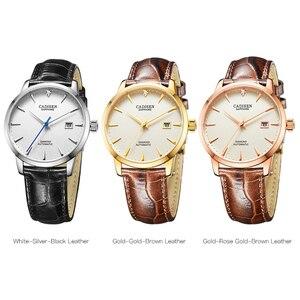 Image 5 - Cadisen腕時計男性2019トップブランドの高級有名な男性時計腕時計自動ゴールデン腕時計レロジオmasculino