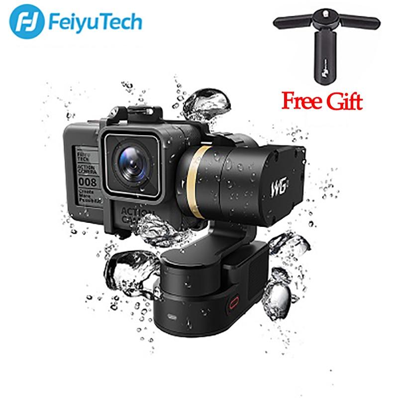 FeiyuTech Feiyu FY WG2 3-Axe Portable Étanche Cardan pour GoPro Hero 5 4 Session PK FY MINI De Poche cardan Stabilisateur