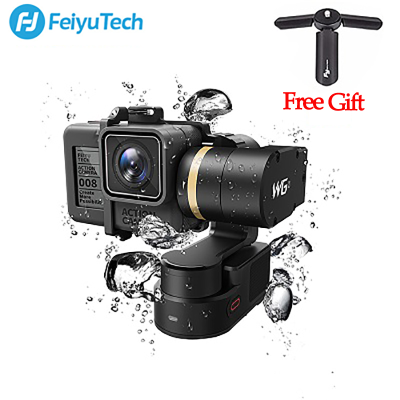 цена на FeiyuTech Feiyu FY WG2 3-Axis Wearable Waterproof Gimbal for GoPro Hero 5 4 Session PK FY MINI Handheld Gimbal Stabilizer