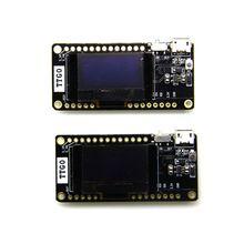 LILYGO®TTGO 2Pcs LORA32 V 2,0 433/868/915Mhz ESP32 LoRa OLED 0,96 Inch SD Karte Blau display ESP 32 WIFI Bluetooth Modul