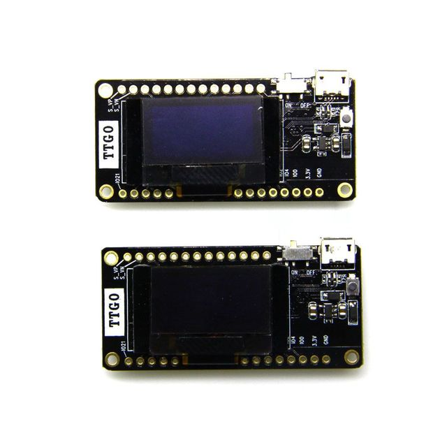 Лилиго®TTGO 2 шт. LORA32 V2.0 433/868/915 МГц ESP32 LoRa OLED 0,96 дюймовая SD карта синий дисплей ESP 32 WIFI Bluetooth модуль
