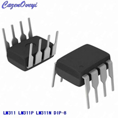 10pcs/lot LM311 LM311P LM311N DIP-8 voltage comparator new original In Stock