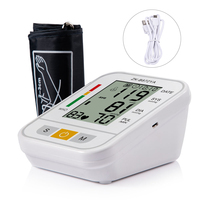 Digital LCD Arm Blood Pressure Monitor Health Care Medical Equipment Electronic Sphygmomanometer Pulse Heart Rate Monitor