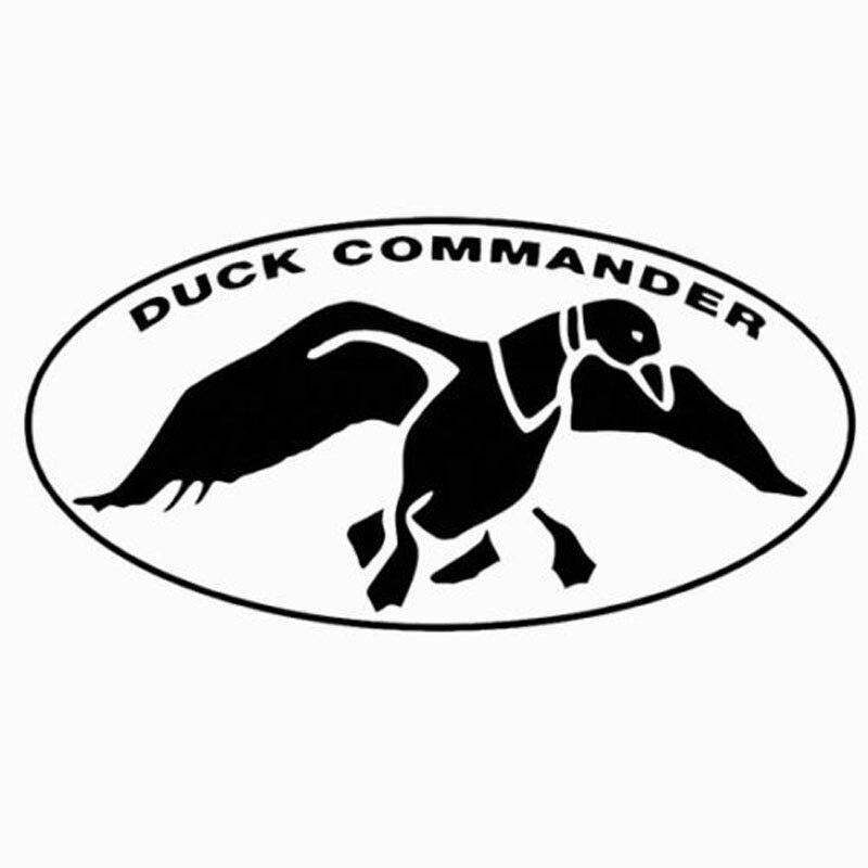 15.2CM*7.6CM Duck Commander Vinyl Car Truck Decal Duck