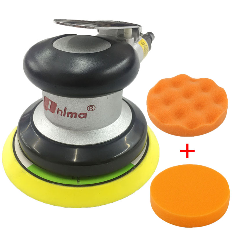 High quality 5 inch grinder track grinder industrial woodworking metal eccentric swing polishing sander pneumatic tools