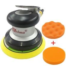 цена на High quality 5 inch grinder track grinder industrial woodworking metal eccentric swing polishing sander pneumatic tools
