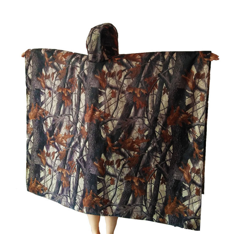 Travel Kits Waterproof Multifunctional Outdoor Tools Mat Poncho Cover Clothes For Rain Tent Awning Camping Hiking Equipment Q124