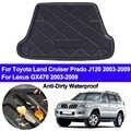 Rear Boot Cargo Liner Tray Trunk Floor Carpet Mats Mat For Toyota Land Cruiser Prado J120 For Lexus GX470 2003 - 2007 2008 2009