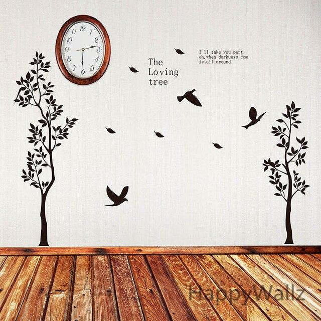 Aliexpress.com : Buy Tree Wall Sticker Loving Tree Wall Decal DIY ...