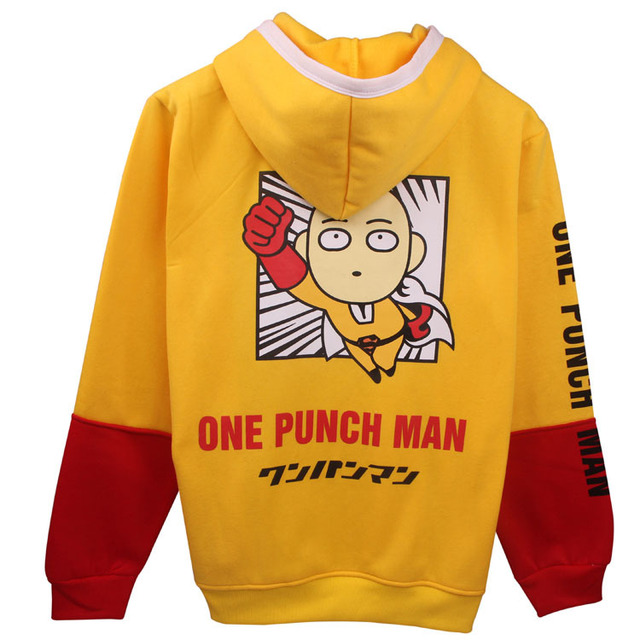 One Punch Man Oppai Cartoon Hoodie