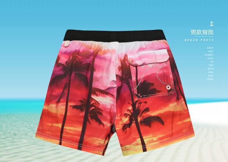 Marca GL férias swim shorts verão novo