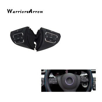 WarriorsArrow Left+Right Multi-Function Steering Wheel Control Switch For VolksWagen Jetta Golf MK6 EOS 5C0959537A 5C0959538B