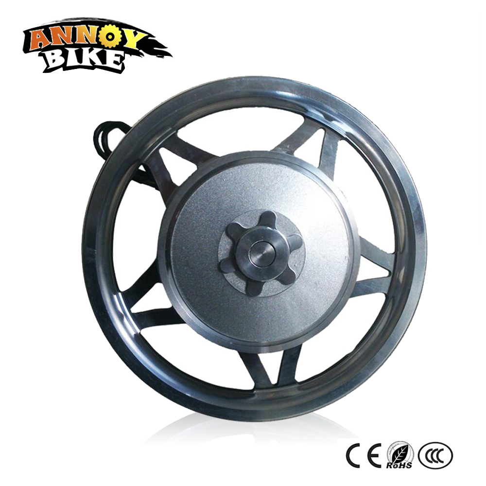 Electric motorized bicycles motor wheel electric scooter12'' 48v 200w250w350w High torque electric brushless gear hub motor 8 350w 48v brushless non gear hub motor wheel motor wheel electric scooter electric skateboard motor wheel