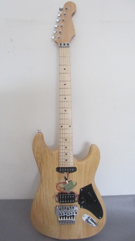 Nouveauté bricolage guitare électrique SRY-04 Photo réelle haute qualité aulne corps