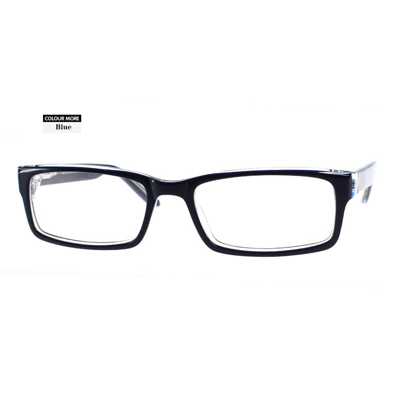 Trendy black eyeglasses