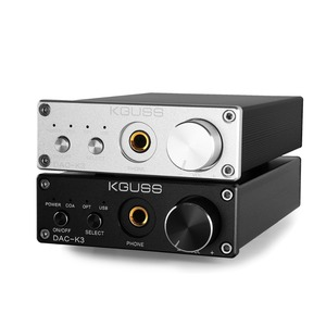 Image 2 - KGUSS DAC K3 MINI HiFi 2.0 Digital Audio Decoder DAC Input USB/Coaxial/Optical Output RCA/ Headphone Amplifier 24Bit/96KHz DC12V