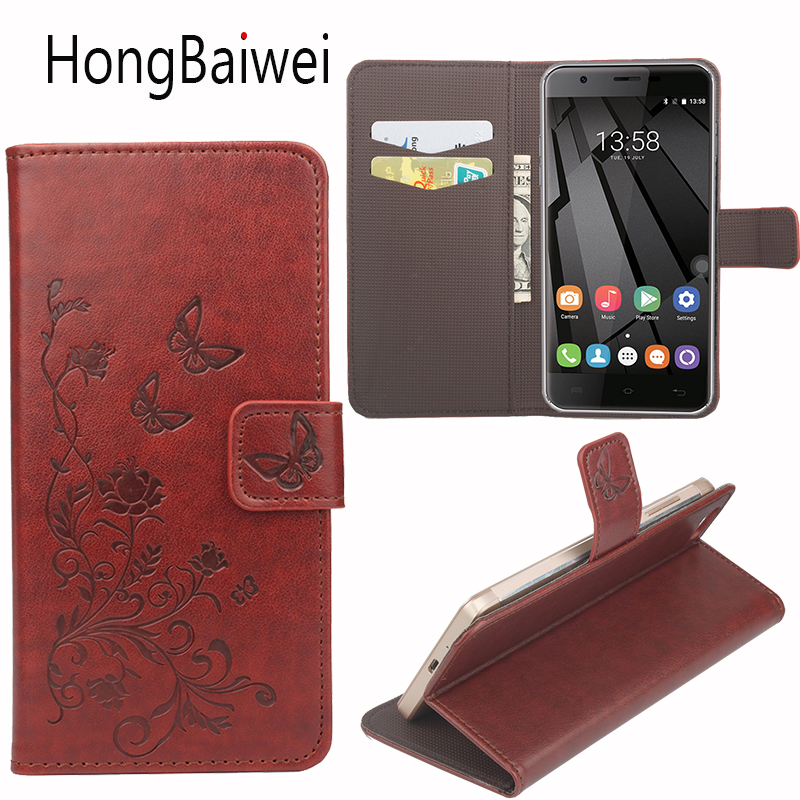 Buy HongBaiwei for Homtom HT3 Pro Case 3D Printed Flower Flip Luxury Leather Wallet Phone Coque Case for Homtom HT3 Pro for only 4.99 USD
