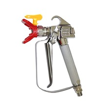 цена на Spray Gun High Pressure 3600PSI Airless Paint Spray Gun+517 Spray Tip Nozzle Guard for Wagner Titan Pump Air Sprayer Machine