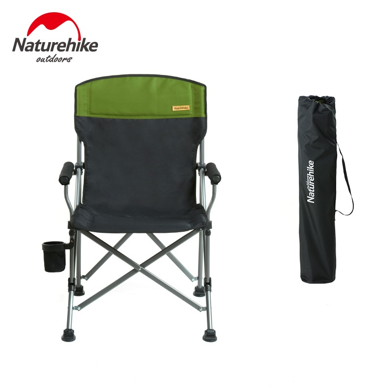 NatureHike 2018 New Fishing Chair Camping Hiking Gardening Barbecue chair Portable Folding Stool naturehike fishing chair portable folding chair for camping hiking gardening beach barbecue with bag