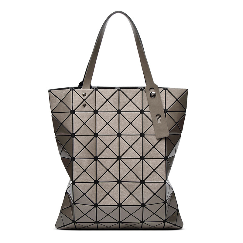 Geometric rhombus bag women's bag 2018 new 6o 7 laser single-shouldered portable damp bag