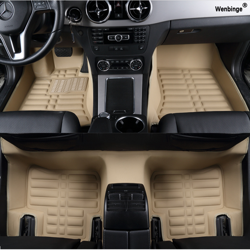 Custom car floor mats for mats for Lexus All Models ES IS-C IS LS RX570 RX470 NX GS CTH GX LX RC RC-F auto accessories foot mats for lexus es is gs gx ls ct lx rx rc nx new brand luxury soft pu leather car seat cover front
