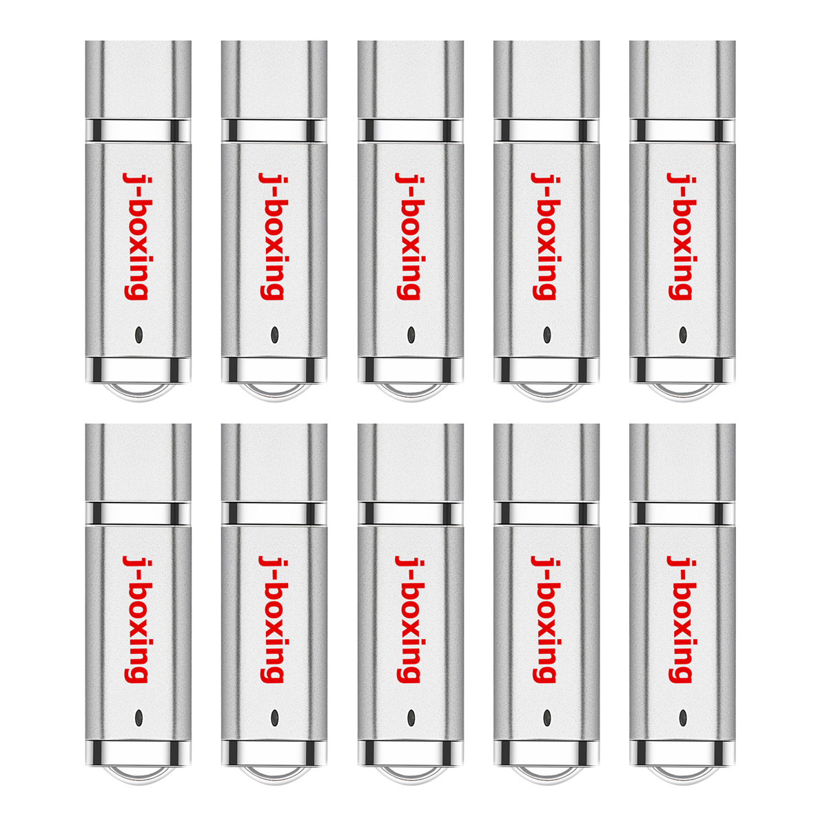 J-boxing 10PCS USB Flash Drives Bulk 1GB 2GB 4GB 8GB 16GB 32GB Lighter Design Thumb Drives Jump Drive Pen Drive Multi-colors