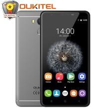 """5.5 """"оригинальный Oukitel U15 про мобильный телефон MTK6753 Octa core Android 6.0 3 ГБ + 32 ГБ 16MP 3000 мАч OTG Смартфон 4 г отпечатков пальцев"""