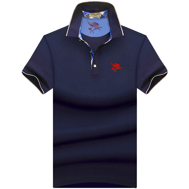 2019 Brand   Polo   Men Shirt Mens Short Sleeve Solid Shirts Camisa   Polos   Masculina Casual 93.5% cotton Plus size 7XL 8XL 9XL 10XL