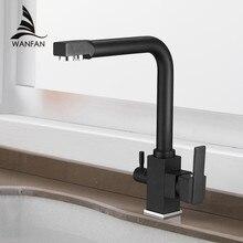 المطبخ الحنفيات سطح جبل صنبور حوض خلاط 360 درجة دوران مع تنقية المياه الميزات ثقب واحد رافعة للمطبخ WF 9050