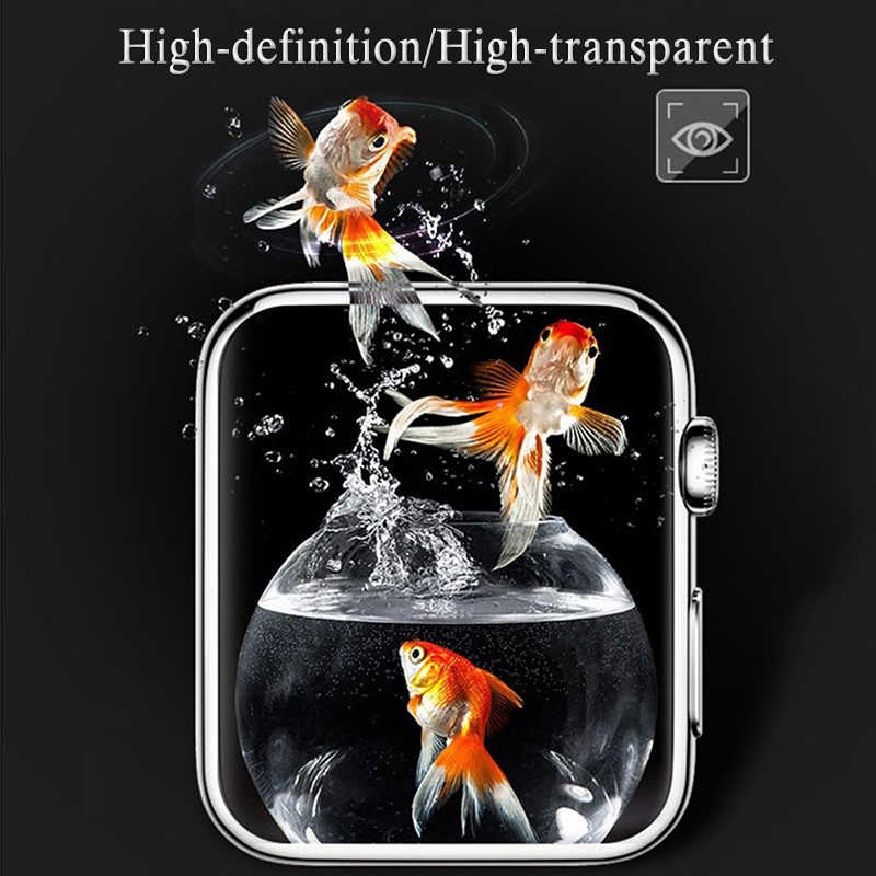 3D Cover On For i Watch 4 3 2 1 Protective Film 38 40 42 44 mm 38mm 42mm 40mm 44mm Soft Protection Screen Protector (Not Glass)