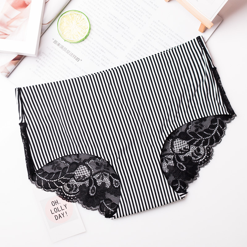 FORDAR Woman Underwear Cotton Sexy Panties 3pcs/lot Floral Printed Briefs Ladies Knickers Intimates For Women XL 2018
