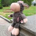 NICI 25cm Flower Gray Sheep Stuffed Plush Toy, Baby Kids Doll Gift Free Shipping