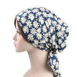 Новые модные мусульманские женский хиджаб тюрбан глава шапка шляпа шапочка дамы аксессуары для волос мусульманский шарф кепки выпадение