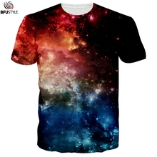 Newest Hip Hop T-shirt Men/Women Summer Tops Tee Shirt Homme Fireworks Space Galaxy Tshirt Poleras Hombre Brand Casual T Shirt