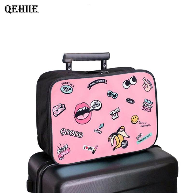 Large Capacity Organizer Bag Portable Bathroom Storage Clothing Underwear Storage Bag Travel Accessories Trolley Case Pouch