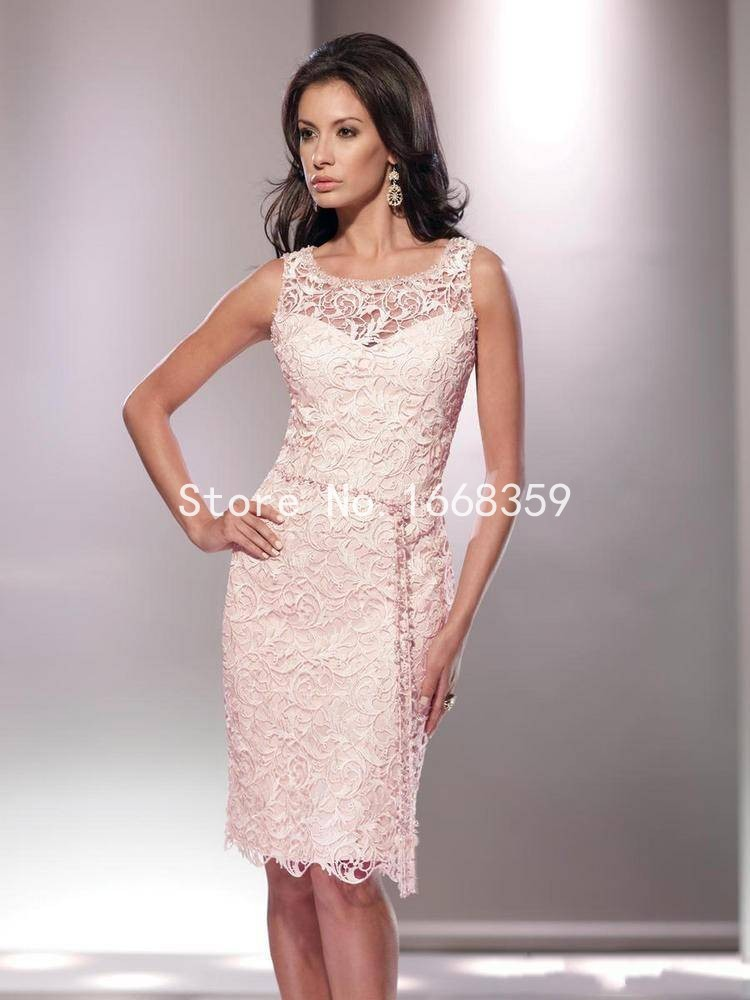 knee length lace mother of the bride dresses 2015 spring